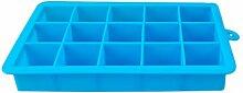 Milopon Bac à glaçons en silicone - 15 par bac