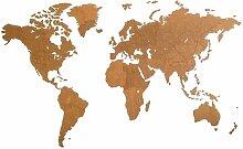 MiMi Innovations Décoration carte du monde mural