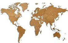 MiMi Innovations Décoration carte du monde murale