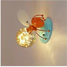 MINGRT Lampe Murale Chambre Enfant Fille,