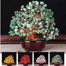 Mini arbre porte-bonheur en cristal Style Feng