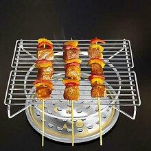 Mini Barbecue Portable en acier inoxydable pour