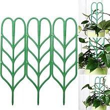 Mini cadre en treillis pour plante grimpante,