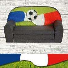Mini-canapé lit enfant Fan Zone FR