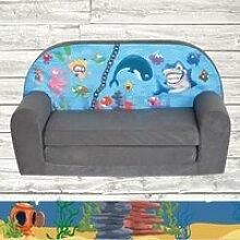 Mini-canapé lit enfant Ocean II
