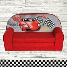 Mini-canapé lit enfant Racing
