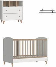 Mini chambre bébé avec plan à langer Kombu