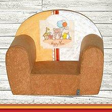 Mini-fauteuil club enfant Fortisline motif Happy