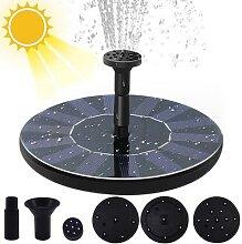 Mini fontaine d'eau solaire flottante pour