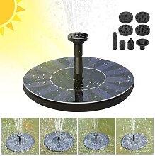 Mini fontaine solaire flottante pour piscine de