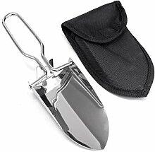 Mini HaShovel portatif Pliant en Acier Inoxydable