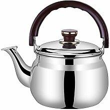 Mini Kettle à thé sifflant, poignée