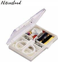 Mini Kit de couture de voyage, boîte
