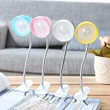 Mini lampe à Clip Flexible 1W, lampe de chevet,