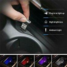 Mini lampe ampoule USB 3 pièces, accessoires de