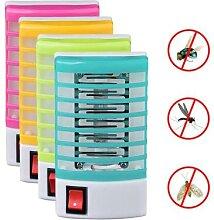 Mini lampe électrique anti-moustiques, piège à