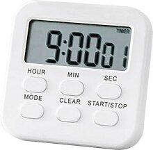 Mini minuterie numérique de cuisine, alarme