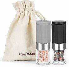 Mini moulin à poivre et sel portable en