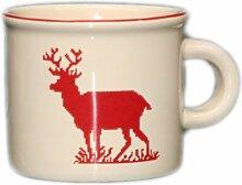 Mini mug Montagne faïence