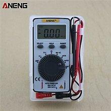 Mini multimètre numérique de poche AN101,