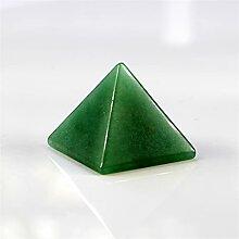 Mini Pierres polies 30mm 100% naturel vert