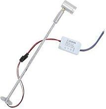 Mini plafonnier LED 1/3W, ampoules montées en