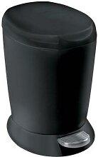 mini poubelle 6l noir