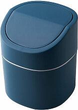 Mini poubelle de bureau en plastique avec
