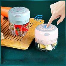 Mini presse-ail électrique, broyeur de légumes,