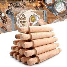 Mini rouleau à pâtisserie en bois de 20Cm de