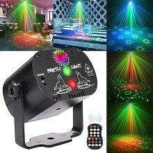 Mini RVB Lumière Disco DJ LED D'étape de