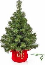 Mini sapin de Noël artificiel VARSOVIE, vert,