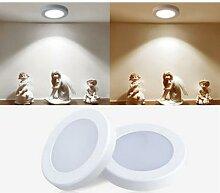 Mini Spot lumineux LED ultrafin monté en Surface,