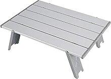 Mini table de camping pliable en aluminium pour