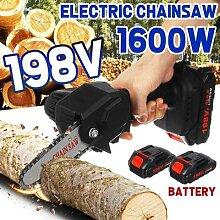 Mini tronçonneuse électrique sans fil, outil de