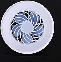 Mini ventilateur lumineux E27, 85-220V, 12W, 3