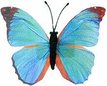 Miniblings Papillon Papillon Ressort Bleu Broche