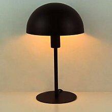 Minimaliste En Métal Lampe De Table De Champignon