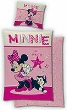 Minnie Disney-Housse de couette-Parure de lit