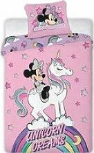 Minnie Licorne-Disney-Housse de couette-Parure de