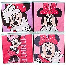 Minnie Mouse Boîte de rangement pour jouets 28 x