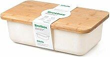 Minuma® Boîte à Pain en Bambou avec Planche à
