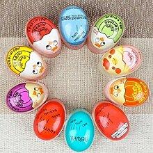 Minuterie de changement de couleur, œufs durs et
