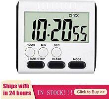 Minuterie de cuisine numérique LCD, Mini