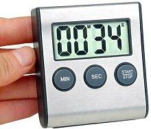 Minuterie de cuisine numérique magnétique,