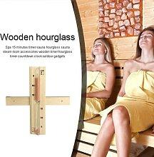Minuterie de sauna en bois, 15 minutes,