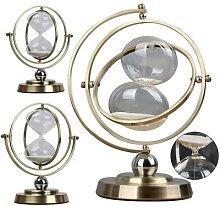 Minuterie Globe, horloge de sable rétro, sablier,
