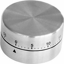 Minuteur Mécanique Inox Magnétique