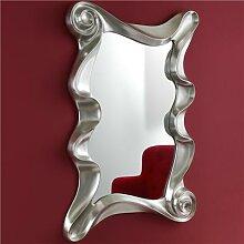 Miroir argenté design CHAMOND