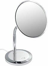 Miroir cosmétique Elegence 17677, modèle sur